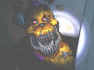 FNaF4 - Pasillo Izquierdo (Nightmare Fredbear - Cerca, iluminado)