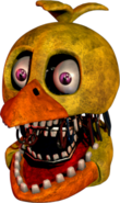 Withered Chica Head UCN Troll Game