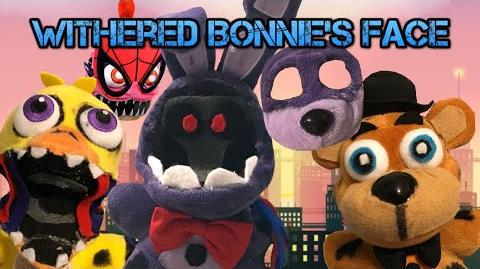 Fnaf Plush - Withered Bonnie's Missing Face!