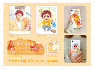 Bday deco asahi stickers