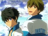 High Speed!the movie -Free! Starting Days- Official Fanbook