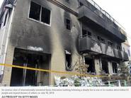 Building 1 post-arson