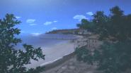 Beach camp island resort