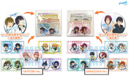 CM89 - Free! ES Animation Do - Comic Market Special Edition can badge collection