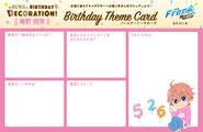 Bday deco kisumi themecard