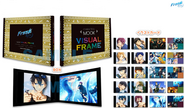 CM89 - CHARACTERS MOOK VISUAL FRAME with illustrations