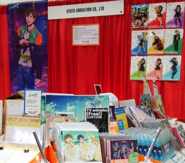 Anime Expo 2015 - booth display