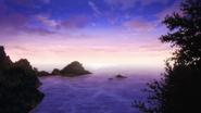 Open sea view from Sukishima bluff