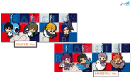 CM89 - Free! ES Animation Do - rubber strap collection