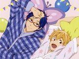 Free!~Sugar Cake~ Voice CD Nagisa & Rei