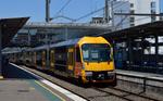 Light rail train connecting City and Suburbs