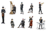 Orchestra Concert 2020 - acrylic stands