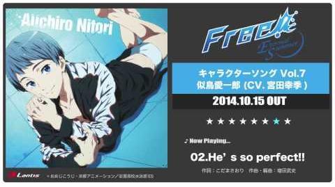 Free!-Eternal Summer- Character Song Vol.7 Aiichiro Nitori