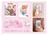 Bday deco kisumi stickers