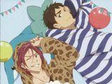 Free!~Sugar Cake~ Voice CD Rin & Sosuke