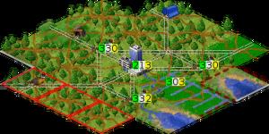 Пример города