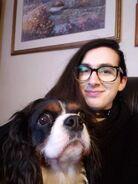 Stephen DiDuro with Sammy