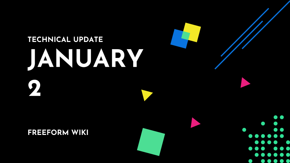 Technical Update - Jan 2