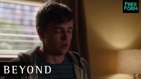 Beyond 1x04 Sneak Peek Holden and Willa Freeform