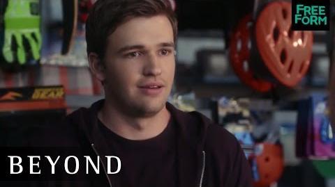 Beyond 1x03 Clip Holden Runs Into Jamie Freeform