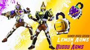 Kamen rider gridon lemon arms and budou arms by legosentaidude dchuca3-fullview