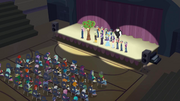 Equestria Girls and friends taking a bow CYOE10.png
