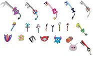 Kingdom hearts weapons by tomyucho d2ihoxf-fullview