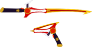 Triassimax saber and blaster by superherotimefan de2q0kz-pre