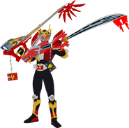 Kamen rider ryuki dragon knight wielding keyblades by superherotimefan de4mhdd-pre