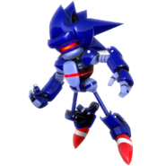 Super mecha sonic render by nibroc rock daovanx-fullview