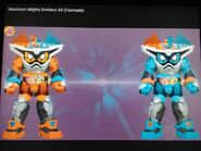 Kamen Rider Ex-Aid Maximum Double Gamer Level XX R and Kamen Rider Ex-Aid Maximum Double Level XX L
