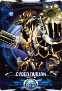 Ultraman X Cyber Rudian Card