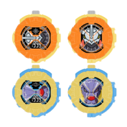 Wargreymon and metalgarurumon ridewatches by dragonrikazangetsu dd4vsj8-fullview