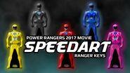 Power Rangers 2017 Movie Ranger Keys