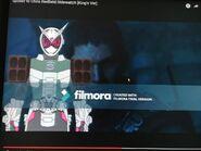 Kamen Rider Zi-O Chris RedfieldArmor