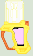 Goddess of Music Cure Muse Gashat