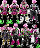 Kamen rider heisei ii ex aid form by tuanenam dbowwfe-pre