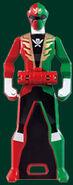 Gokai Christmas Ranger Key