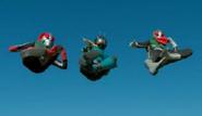 Triple Rider Kick