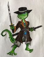 Equestria ninjas chetgeki chet chan gecko by bozzerkazooers dbkviqm-fullview
