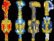 Keyblade the four keyblades of spinjitzu by rolandwhittingham ddvwaz1-pre