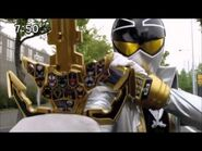 Super Megaforce Silver is holding a different Gold Key