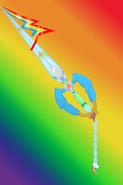 Undying loyalty rainbow dash keyblade by aniamalman-d6zdvld