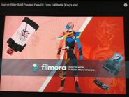 Kamen Rider Build PassionPara-DX Form