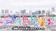 """(HD) Kiramager,Ryusoulger & Lupinranger VS Patranger dancing """"Que Boom Ryusoulger """""""