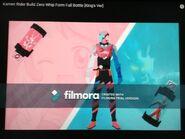 Kamen Rider Build ZeroWhip Form
