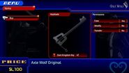 Dark Kingdom Keyblade - Axle Wolf Original