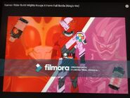 Kamen Rider Build MightyKuugaX Form