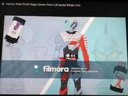Kamen Rider Build SugarSeven Form