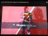 Kamen Rider Build PinkieJuggler Form